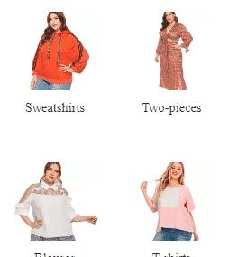 ملابس مقاسات كبيرة