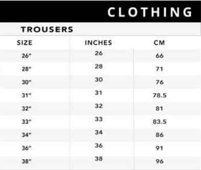 دليل مقاسات ملابس الرجال من 6 ستريت