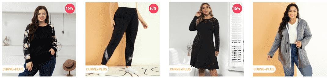 أرخص ملابس نسائية مقاسات كبيرة مع كوبون خصم بات بات